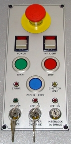 Compact Laser Control Panel